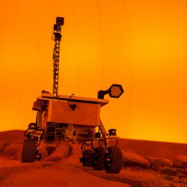 Robotic Mission to Mars